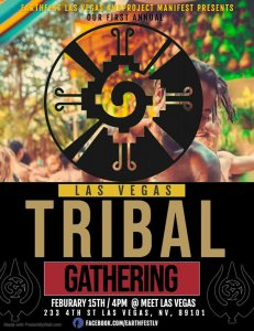 Flyer for Las Vegas Tribal Gathering